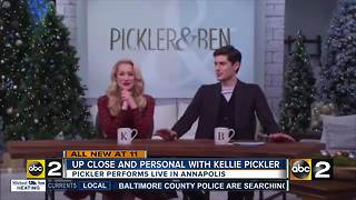 TV talk show host Kellie Pickler comes to Maryland - Video