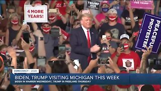 Biden, Trump visiting Michigan this week