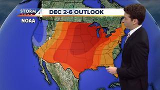 Warmer start to December expected - Video