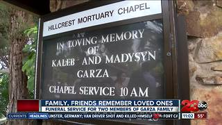 Family and friends remember the Garza family - Video