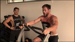 Watch Chris Hemsworth Train to Become Thor - Video