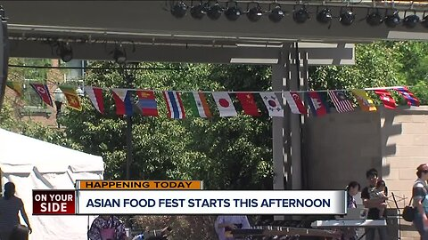 Asian Food Fest is back this weekend