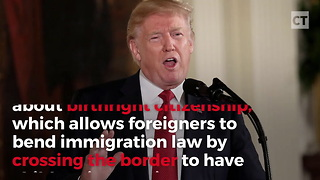 """Liberal Blasts """"Anchor Babies"""" Comment, Realizes Trump Was Right All Along - Video"""