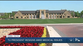 University of Tulsa president resigns amid medical issues