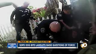 San Diego Police Department dog bite lawsuits raise questions of force - Video