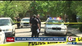 Ex-felons urge young people to lay down their guns