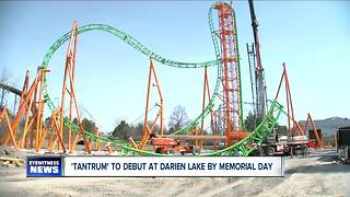 Darien Lake shows off newest roller coaster - Video