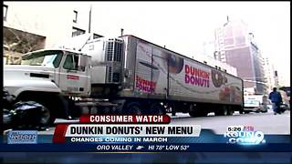 Dunkin' Donuts menu change may cut some of your favorites - Video