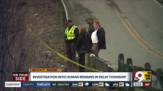 Skeletal human remains found in Delhi Township