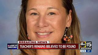 Teacher's remains believed to be found - Video