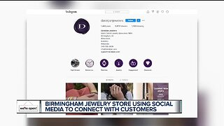 Birmingham jewelry store using social media to connect with customers