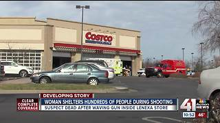 Lenexa woman opens home to stranded Costco shoppers, employees after shooting - Video