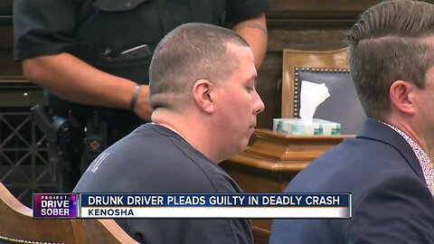 Drunk driver pleads guilty in crash that killed three