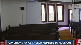 Congregation Moves Out As 105-Year-Old Church Falls Apart - Video