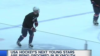 USA Hockey's next stars being groomed in Plymouth - Video