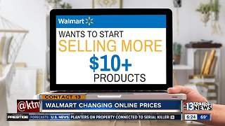 Walmart changing its online prices - Video