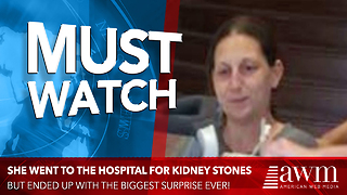 She Heads To Hospital For Kidney Stones, Wakes Up After Surgery To Life-Changing Surprise - Video
