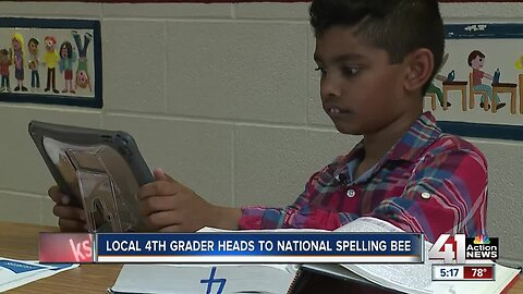 Fourth-grader wins spot in Scripps Spelling Bee in 30 rounds