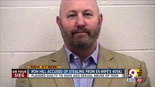 Ron Hill charged with ID fraud, embezzlement