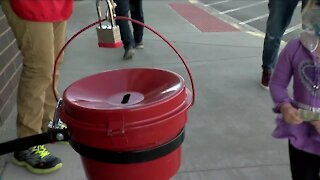 Salvation Army has fewer ringers out this year