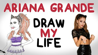 Ariana Grande | Draw My Life - Video