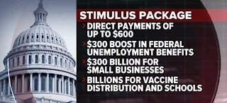 What's in the stimulus deal Congress is expected to vote on soon?
