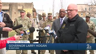 Officials visit meal distribution center, Baltimore City operating 50+ sites