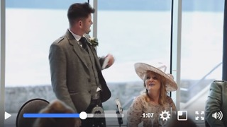 Best Man Raps Wedding Speech - Video
