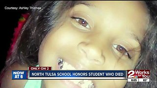 North Tulsa school remembers former student - Video