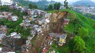 Deadly Mudslides Strike Manizales - Video