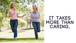 It Takes More Than Caring - Greeting Card - Video