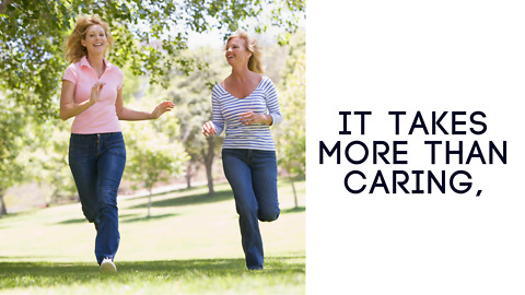 It Takes More Than Caring - Greeting Card