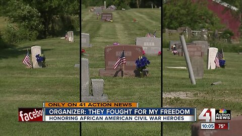 Small Missouri community celebrates Civil War soldiers emancipated after war