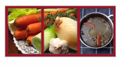 How to make chicken bouillon (stock)