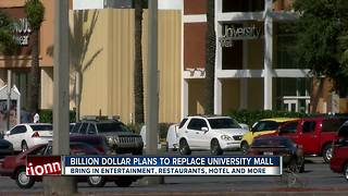 Billion Dollar plans to replace University Mall - Video
