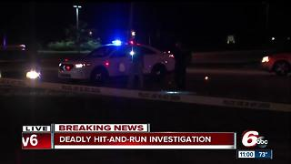 Pedestrian struck, killed during hit-and-run on Indy's northeast side - Video