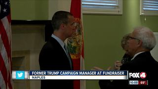 Former Trump campaign manager visits Naples - Video
