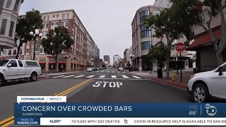 Some streets in Gaslamp Quarter may close to help with social distancing