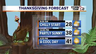 Colder tonight. Good travel weather ahead. - Video