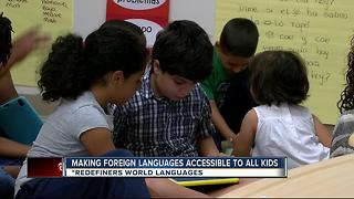 Program aims to teach kids multiple languages - Video