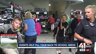 Back to school events helping families in need - Video