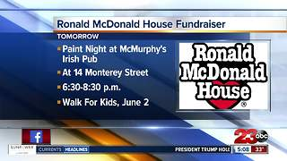 Paint Night at McMurphy's benefits Ronald McDonald House - Video