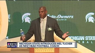 Mel Tucker introduced as new Michigan State head coach
