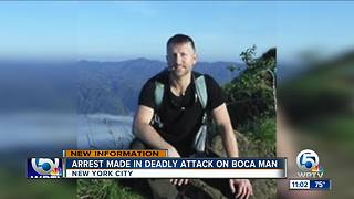 Assistant basketball coach arrested in deadly attack on Boca man in NY - Video