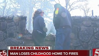 Family Loses Everything in Gatlinburg Wildfire