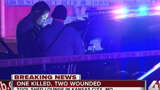 Bar fight leads to deadly triple shooting in KCMO - Video