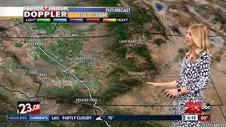 Warmer than normal temperatures and dry conditions continue through the weekend - Video