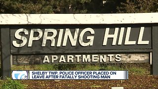 Shelby Twp. police officer accused of fatally shooting a man