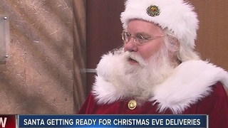 Santa Claus visits midday to answer your questions