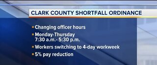 Clark County offices cutting hours